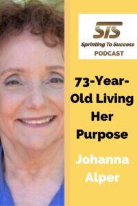 Johanna Alper on Sprinting To Success Podcast