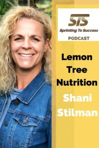 Shani Stilman on Sprinting To Success Podcast