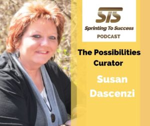 Susan Dascenzi on Sprinting To Success Podcast