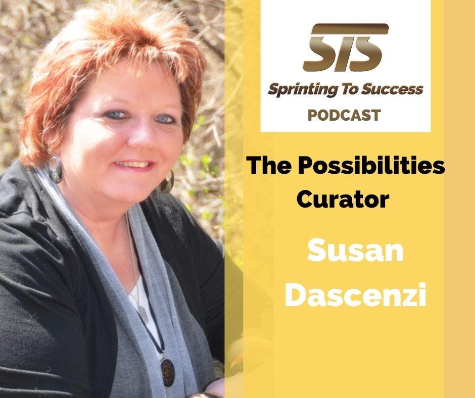 Susan Dascenzi on Sprinting To Success Podcast