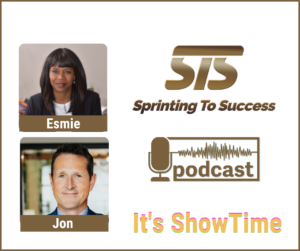 Jon Petz on Sprinting To Success Podcast